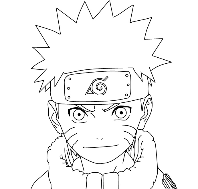Lineart Naruto : Naruto lineart by bionicghostkid on deviantart
