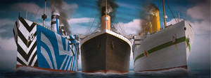 Olympic Titanic Britannic sistern