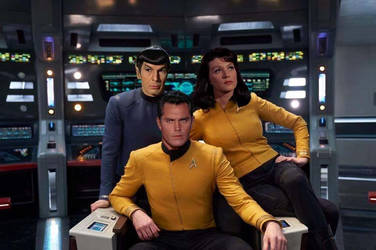 Spock Pike Numberone DSC mix The cage by kingsirluke