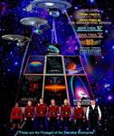 Captain Kirk era Movie Poster StarTrek