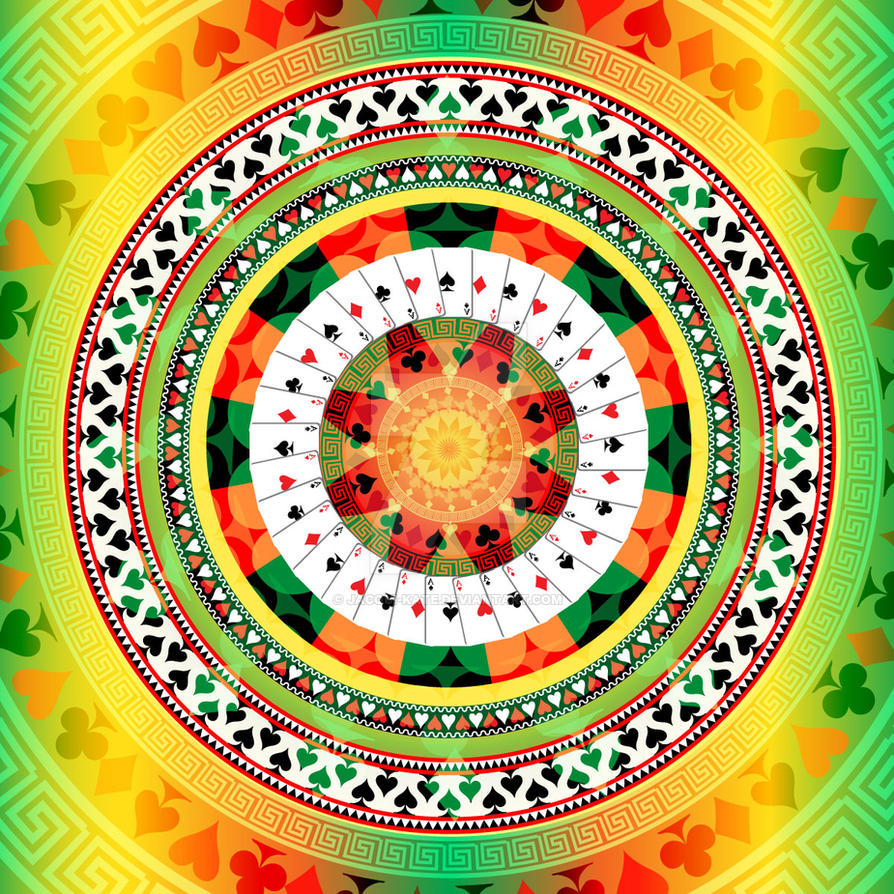 Mandala by jacqui-kate