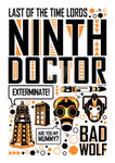 Ninth Doctor: Poster
