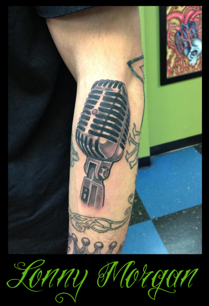 Vintage Microphone Tattoo by lowkey704 on DeviantArt
