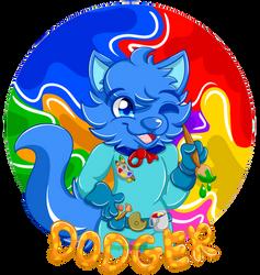 Dodger Paint Badge Commission