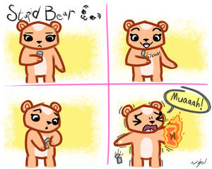 Stupid Bear No. 3 - Ouch