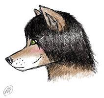 first furry!...head by sneezydragon