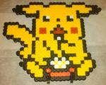 Popcorn Pikachu Perler Beads