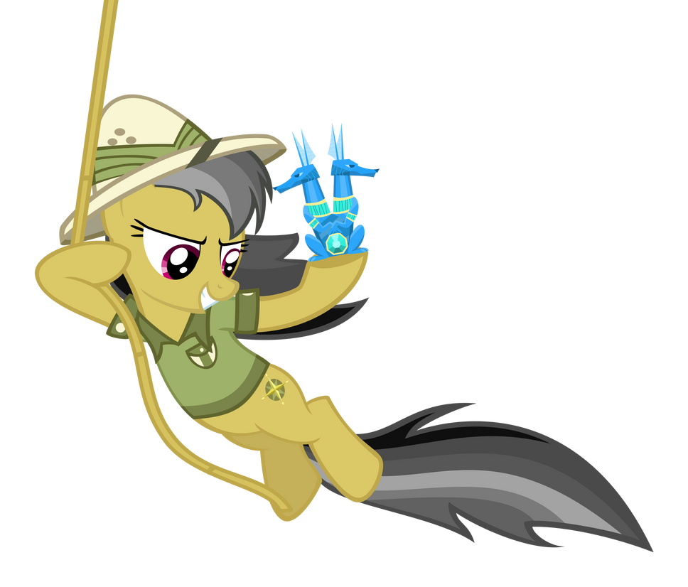 Daring-Do the Magnificent by delectablecoffee