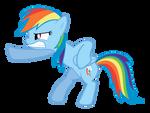 Rainbow Dash Action Pose