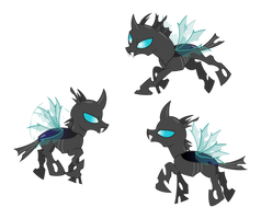 Changeling Group by delectablecoffee