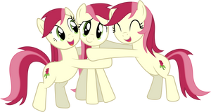 Roseluck Hugs by delectablecoffee