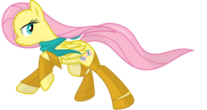 Fluttershy Rush Vector by delectablecoffee