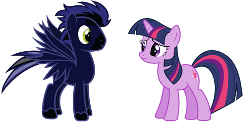 Request: Spark Storm and Twilight Sparkle