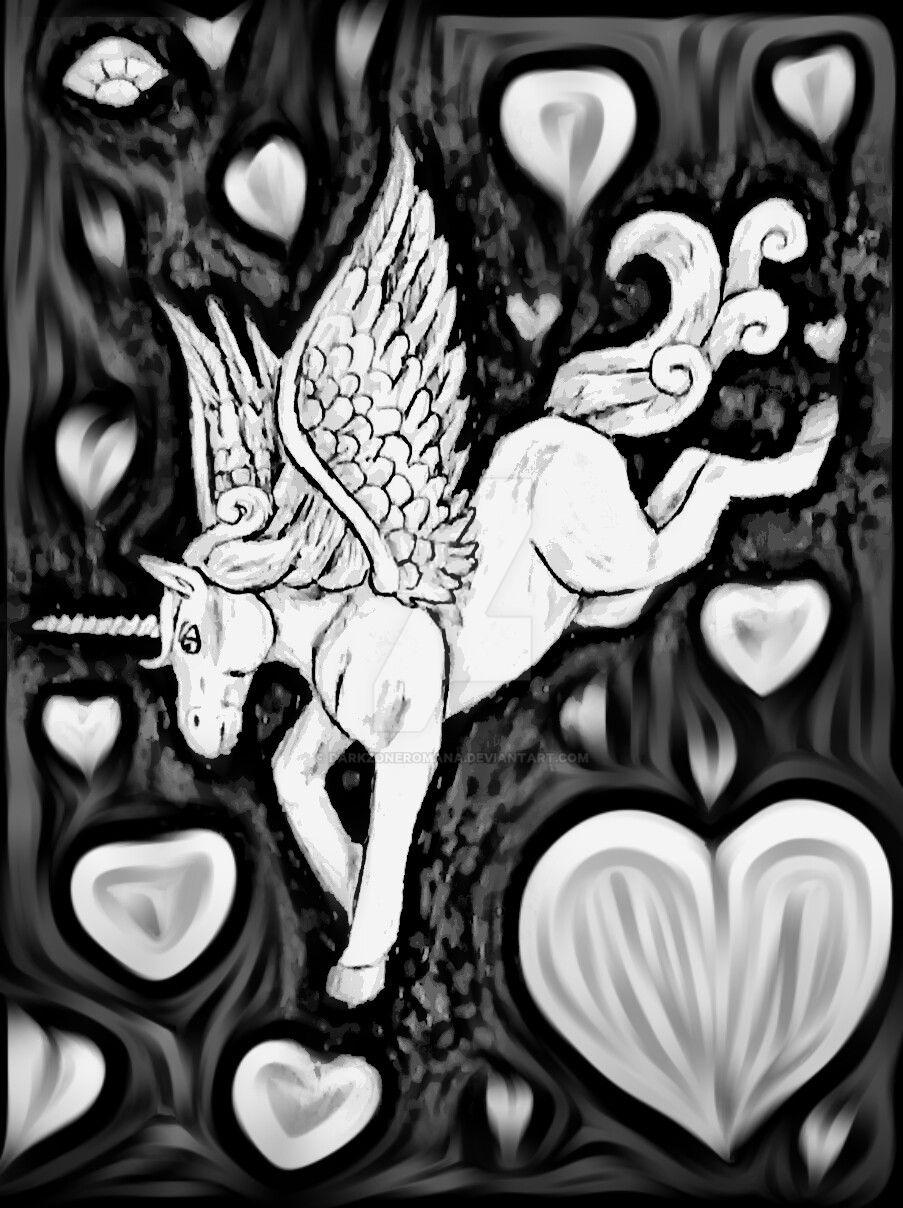 alicorn by DarkZoneRomana