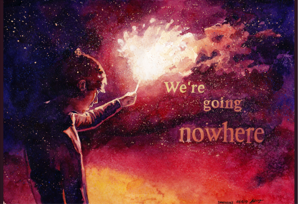 We're going nowhere by damenikki