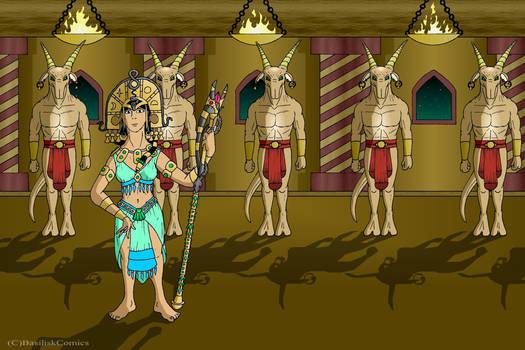 Basikan Priestess