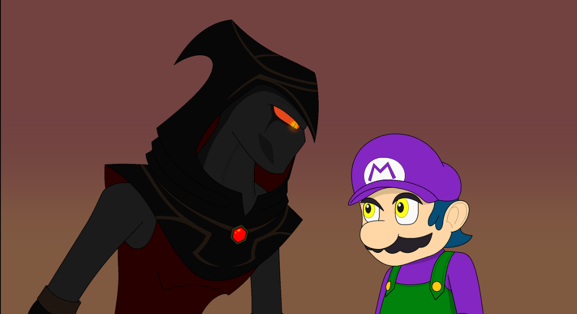 Who... Are... You...? (by official_metalxser) by SuperShadeMario