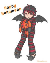 Happy (belated) Halloween! by hikariangelwings