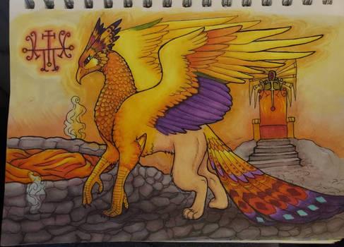 Augustus (Archdemon Phoenix-Griffin OC)