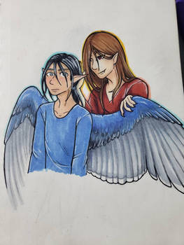 BV (Vetruvius) and the Bluejay Fae