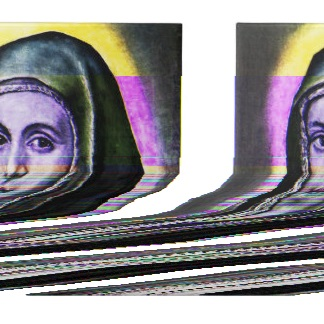Virgin Mary Glitch by Reinarch