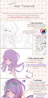 Hair tutorial by cherriluu