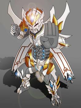 White Dragon Knight