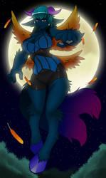 Chimera Under the Moonlight