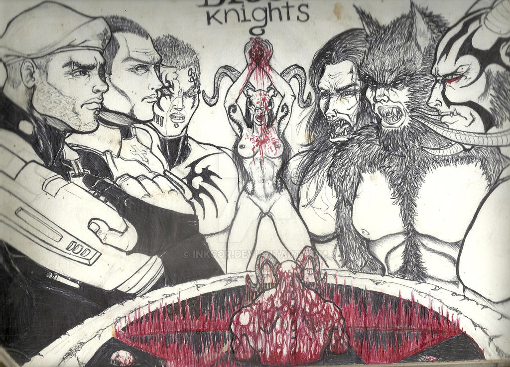 The Assention Of Evil Blood Knights Concept Art By Inkcor On Deviantart