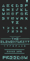 The Elementarity Typeface
