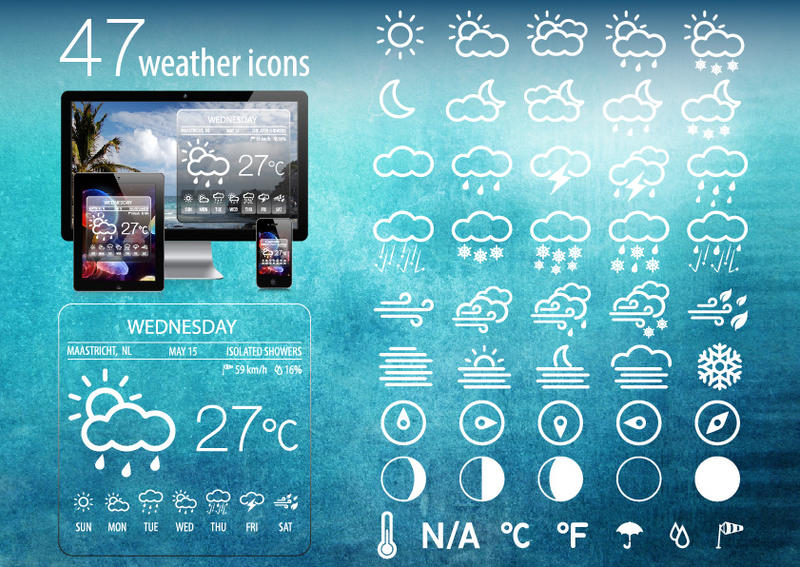 Weather Icons by Alexgorilla