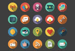 Web Flat Icons bundle