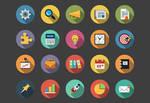 Business Flat Icons bundle