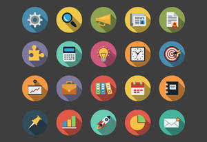 Business Flat Icons bundle