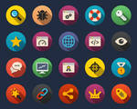Seo and Web Flat Icons