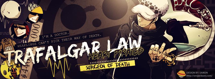 Trafalgar Law Cover 2 by BozZSai