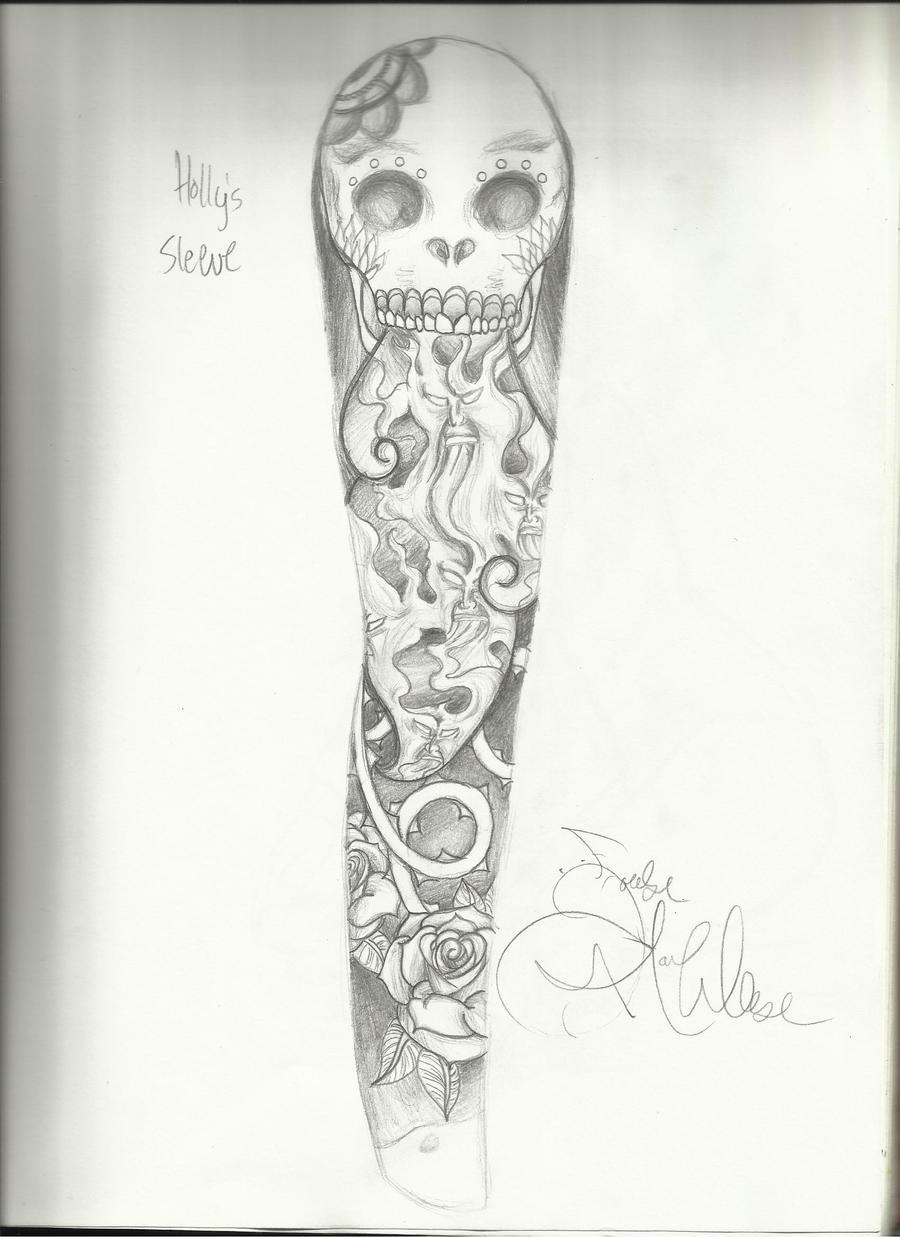 "Tribal Flower Tattoo. ""Life is"