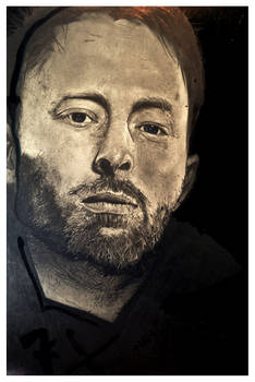 Thom Yorke by Aaron Frick
