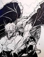 Khellendros - Dragonlance by AaronFrick