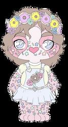 (OTA) Pastel Sprinkles Sloth -Closed- by Anniekitty14