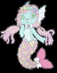 (A) Mermay Wishful- Plushie Mermaid -Open- by Anniekitty14