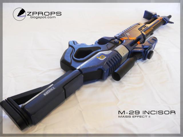 Mass Effect M-29 Incisor by zanderwitaz