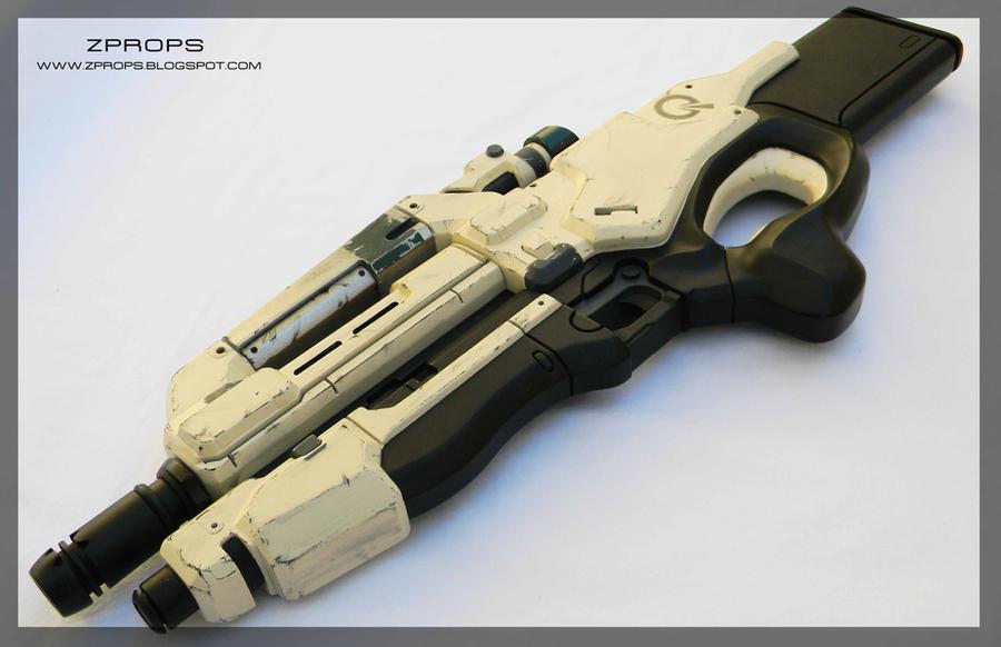 Mass Effect II Mattock M96 Heavy Rifle by zanderwitaz
