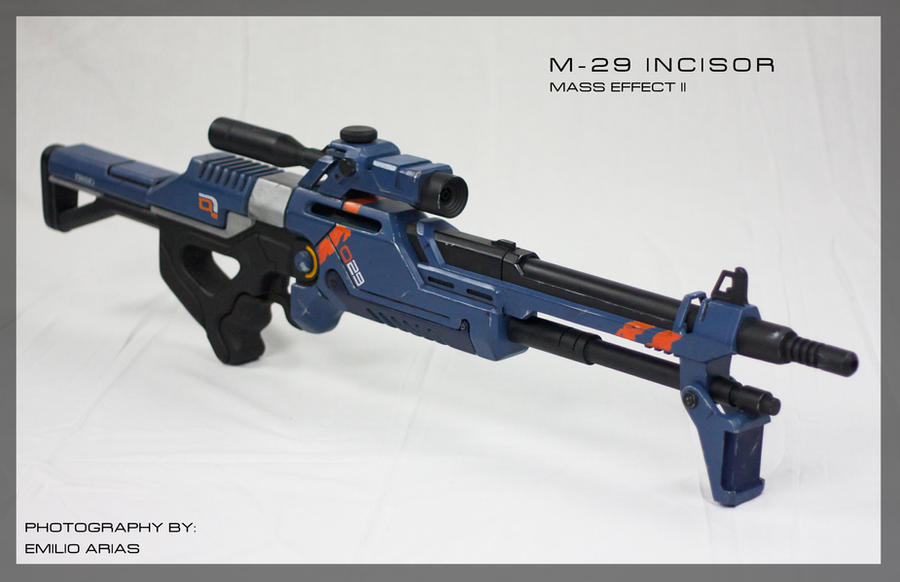 Mass Effect 2 M-29 Incisor Sniper Rifle Prop by zanderwitaz