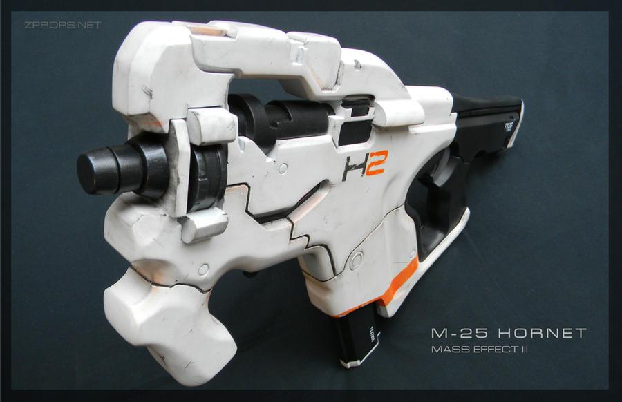 Mass Effect 3 M-25 Hornet by zanderwitaz