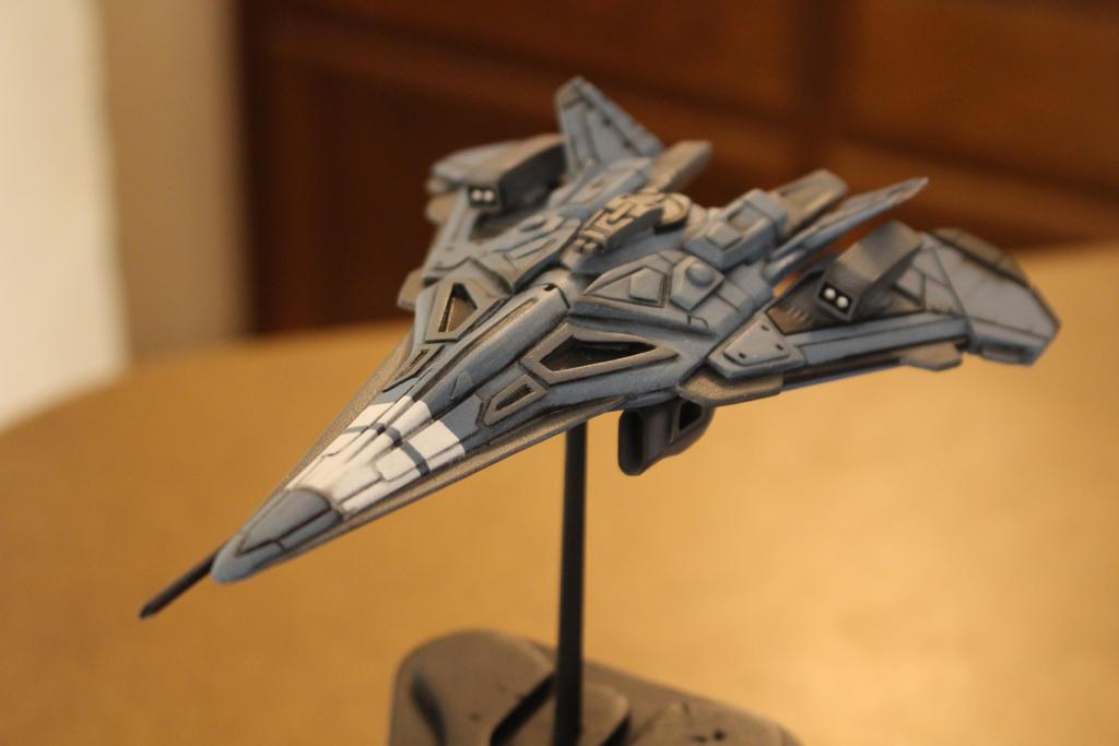 Destiny Phaeton Jumpship Custom Armaments by zanderwitaz