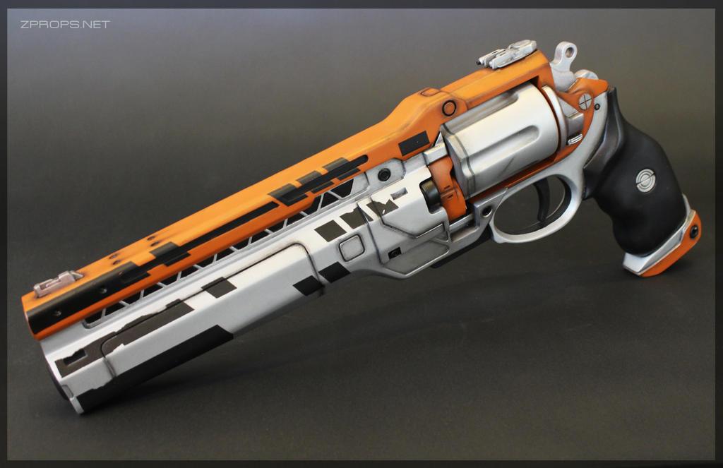 Destiny Silvered Maverick Mk. 41 Rare Hand Cannon by zanderwitaz