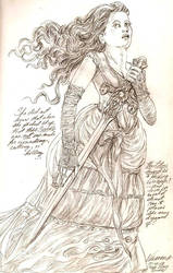 The Lotus Sword by ValentinaKaquatosh