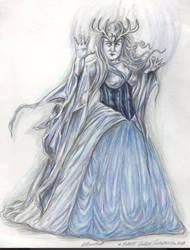 Ice Forest Queen Sorceress by ValentinaKaquatosh