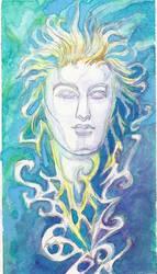 A Tranquil God by ValentinaKaquatosh